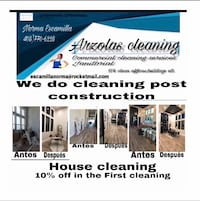 House cleaning,we cleaning post construction or remodeling to ,Limpieza de casas también hacemos limpieza después de construcción o remodelación