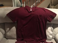 Men's polo shirts(6) size XL Bowie, 20720