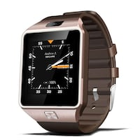 New 3G WIFI Smart Watch Phone 512MB/4GB Bluetooth 4.0 Camera Real-Pedometer SIM Card Anti-lost   Colors available: black, silver, gold Content: new smartwatch, charger, instructions, box.  •3G Network, WiFi, Bluetooth 4.0, 1.2G Dual Core, Android 4.4.2  Mont-Royal, H3R 1S6