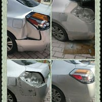 Mobile body details dent and scratch removal