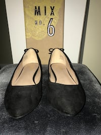 Women's size 8.5. Pair of black suede flats from Target brand no. 6. Retails for $25 never been worn with the box. Annapolis