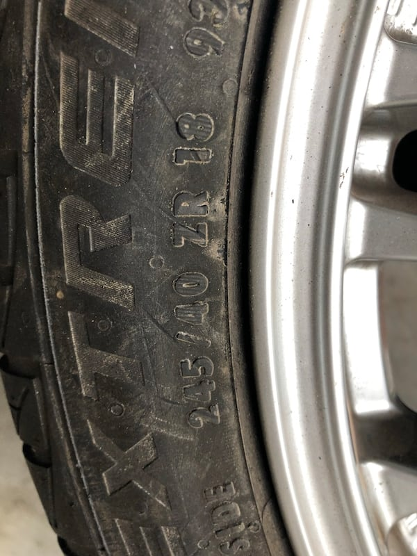 245/40/ZR18 Oz Racing with DWS tire 3bbd6373-218a-43da-999f-a010ea1f8abc
