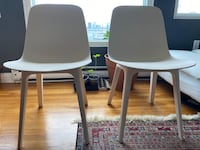 A pair of IKEA Odger chairs Chelsea, 02150
