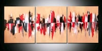 Beautiful 3 Piece Painting Toronto, M3C 1G2