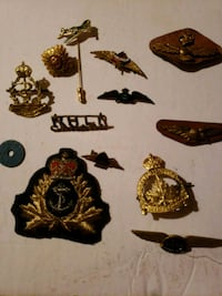 Military badges/pins Burlington, L7M 4R2