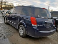 2007 Nissan Quest in for parting ONLY. Self serve you pull it salvage yard, cash only deals. Temple Hills