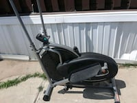 black and gray elliptical trainer Plano, 75074