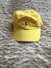Yellow ralph lauren strap back