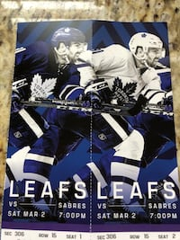 LEAFS TICKETS Mississauga, L4X