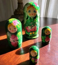 Russian doll set (4). Toronto, M1R