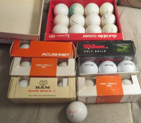 GOLF BALLS.     ASKING $35.00  02702e0f-939d-4e0d-9b43-4126390a4d3d