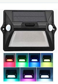 Color-changing Solar Porch Light, Wireless Waterproof, Motion 1/2PRICE