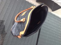 Black and Tan Bag