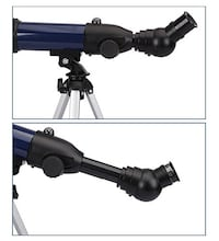 Astronomical Refractor Telescope with Tabletop Tripod Compass for Child Kids Sky Gazers Birds Watching East Grinstead