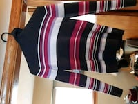 black, white, and red striped turtlenecks  Coquitlam, V3J 4B5