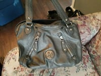 women's gray leather shoulder bag Prince George, V2L 2A6