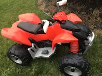 red and black ride-on ATV toy Calgary, T2J 2S6