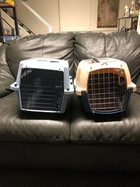 Cat cages or tiny dogs