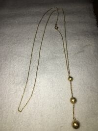 10k gold necklace and pendent Belleville, K8N