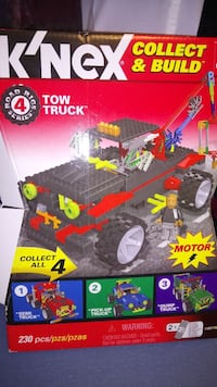Knex building tow truck new in box