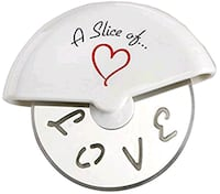 A Slice of Love' Stainless-Steel Pizza Cutter in M Virginia Beach, 23454