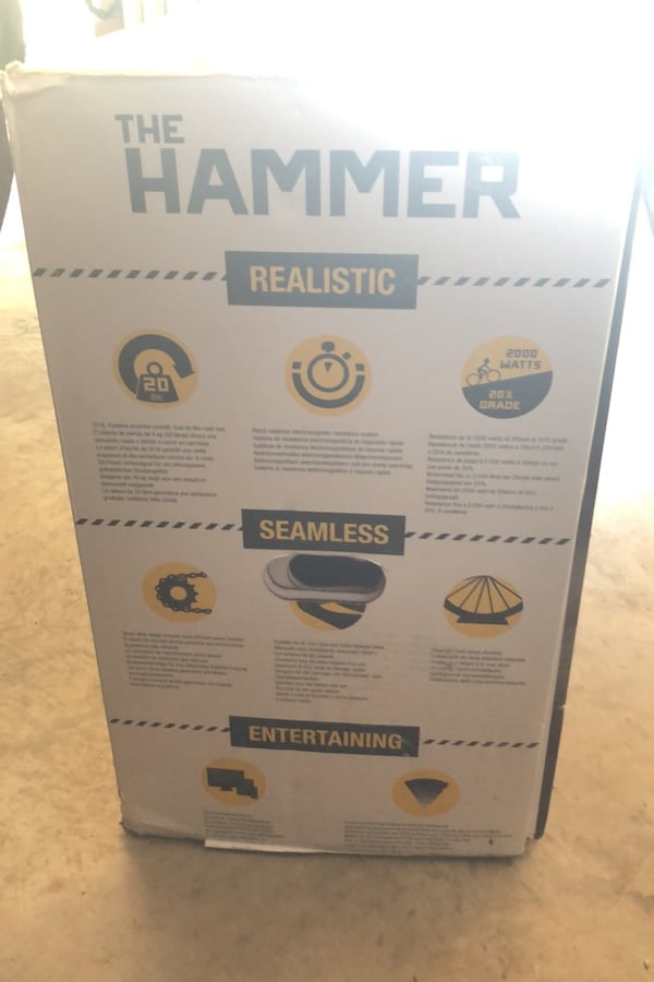 The Hammer cycle trainer indoors 03f1fb4e-78c6-4679-99aa-6080f0029258