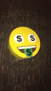 Yellow emoticon bank
