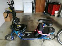 E-zip electric scooter.