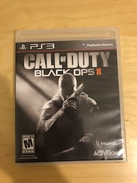 Call of duty black ops 2 ps3 game Toronto, M6H 3Y2