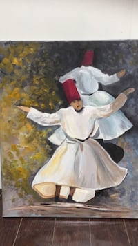 The whirling dervish painting