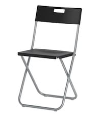 Black metal framed folding chairs (18qty) Middletown, 21769