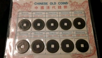 Chinese old coins (ancient cash)