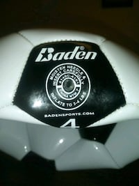 Brand New Baden soccer ball #4 hasn't been inflated