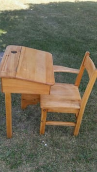 brown wooden table with chair Hastings, K0L 1Y0