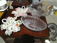 two clear glass bowl and bowl Fridley, 55432