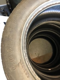 Good Year Eagle Sport 275/55 R20.  They have approx. 25k miles on them   Stafford, 22554