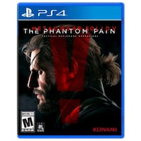 Metal gear solid phantom pain ps4 Brampton, L6T 3R5