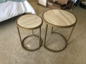 2 Side tables in excellent condition