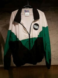green and white zip-up jacket Toronto, M6R 1Z5