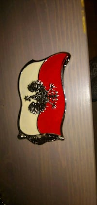Poland belt buckle