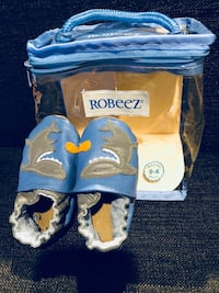 0 to 6 months Robeez soft sole shoes 溫哥華, V6J