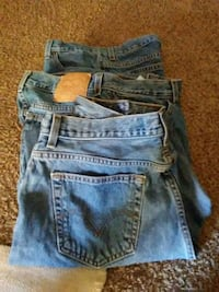 3 pair levis 2 size 16 m and one size 18m very goo Charles Town, 25414