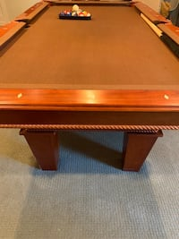 Fat Cat Frisco 7.5' Pool Table with Classic Style Billiard Pocket