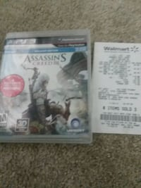 Assassins creed game ps3 never used  Mishawaka