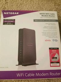 Netgear N300 Wi-Fi router box Ashburn, 20147