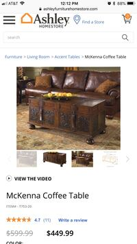 McKenna Coffee Table & 2 End Tables like NEW Westwood, 07675