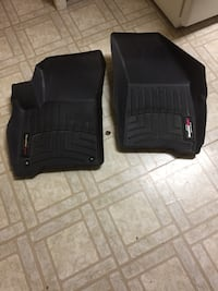 Front seat WeatherTech car mats from 2015 Journey