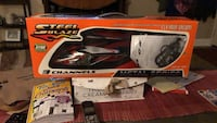 black and red Black & Decker hedge trimmer box