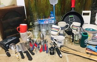 Kitchenware - more than 50 items