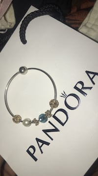 Essence bangle with charms. Retail value of 800 Gaithersburg, 20886